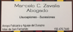 Abogado Marcelo Zavalia Tigre