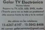 Galar TV Electrónica Isla Tigre