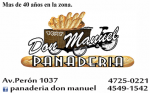Panadería Don Manuel San Fernando